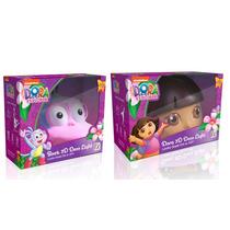 Luminária 3d Light Fx Dora Aventureira & Botas Nick Jr
