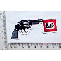 Adesivo 38 Bang Revolver Andy Warhol Grafite Gemeos Arte