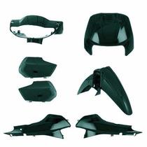 Kit Plásticos Verde Metálico Honda Biz 100 Ano 2000