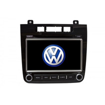 Kit Central Multimidia Dvd Gps Tv Volkswagen Touareg 2012 3g