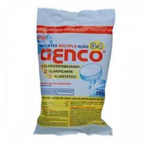 Pastilha De Cloro - 3 Em 1 - Genco - 200 Gramas
