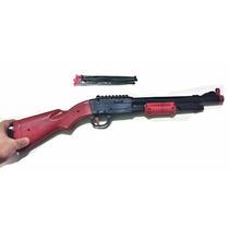 Rifle Espingarda Arma 12 Lança Dardos Inofensivo
