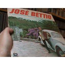 Lp - Jose Betio - O Sanfoneiro 1972 C/ Feijão Queimado