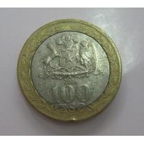 Chile: Bimetálica - Bela Moeda 100 Pesos 2006 Mbc