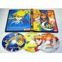 Dvd Filme Sailor Moon 3 Filmes Audio Japones Legenda Ingles