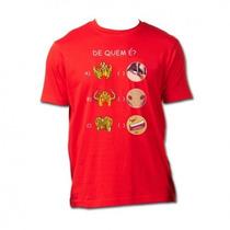 Camisa Cavaleiros Do Zodíaco - De Quem É?