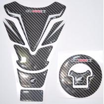 Protetor Tanque 3d Tankpad + Bocal Moto Honda Cb 500 X M1