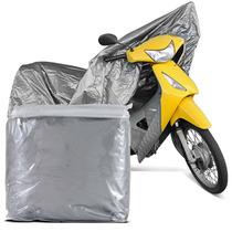 Capa Protetora Para Cobrir Moto 100% Impermeável P Biz 2006