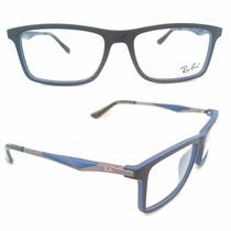 Armação Óculos Grau Ray Ban Lançamento Várias Cores Unissex