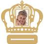 Porta Retrato Coroa Princesa 3x4 Kit  20 Peças R$ 3,00 Cada