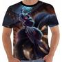 Camiseta Ahri Noturna League Of Legends Lol