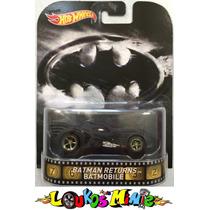 Hot Wheels Batman Returns Batmobile Retro Lacrado 1:64
