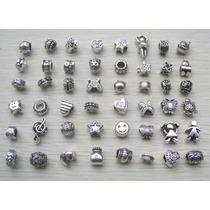Pingentes Charm De Prata 925 Pandora - Kit Com 4 Unidades
