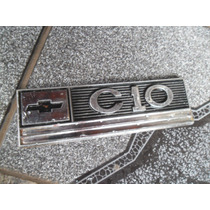 Emblema C10 Do Paralama Modelo Antigo Muito Raro Lindo