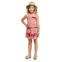 Vestido Infantil 4 Ao 10 Anos