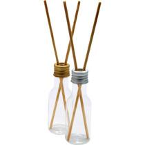 20 Embalagem Plástica Para Difusor E Aromatizador De 50ml