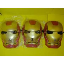 03 Mascaras Homem De Ferro Vingador Infantil