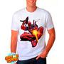Camiseta Branca Deadpool Quadrinhos Hq Engraçada 372
