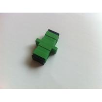 Adaptador Fibra Óptica Sc/sc - Apc (com 50 Peças)