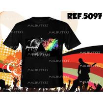 Camiseta Bandas Rock Pink Floyd Metallica Acdc