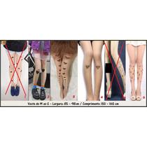Meia-calça Tatuagem