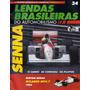 Lendas Brasileiras Automobilismo 34 - Senna Mclaren Mpa/7 92