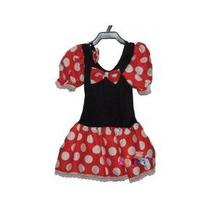 Fantasia Infantil Ratinha Minnie - Aniversário Carnaval