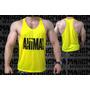 Camiseta Regata Cavada Maromba Animal Universal Musculação