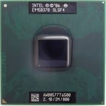 Processador Intel Mobile Core 2 Duo 2.1/2m/800 T6500 Slgf4