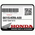 Honda 06115-krn-a00 Jogo De Juntas Crf250r