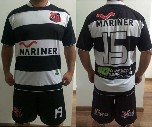 Uniforme Esportivo Personalizado Futebol Chacara Futsa 10cnj a02e5c0a782fc