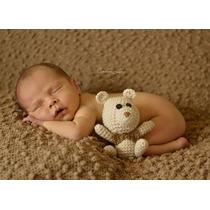 Amigurumi (urso De Croche) Newborn Fotografia