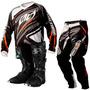 Conjunto Kit Motocross Trilha Insane 3 + Bota.