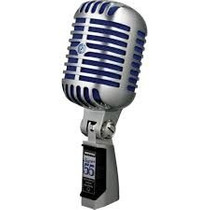 Shure Super 55 Microfone Dinâmico Supercardioide, Vintage