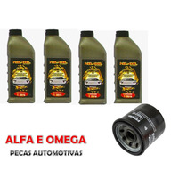 Kit Troca Filtro + Óleo 20w50 Mondeo Escort Zetec 1.8 2.0
