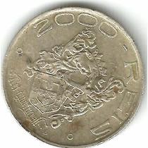 2000 Reis 1932, Vicentina, 400 Anos Colonização, Prata,