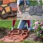 Forma Para Piso Jardim Para Concreto   - Alum�nio