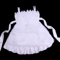 Vestido Infantil Festa/batizado Branco Ou Amarelo