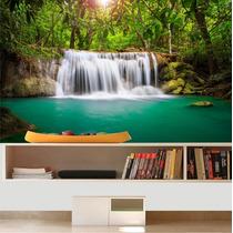 Adesivo Painel Papel Parede Paisagem Cachoeira Natureza M04