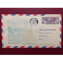 Usa 1932 - Selos Em Carta Dos Estados Unidos Envelope Antigo