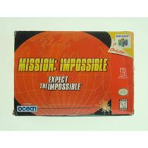 Mission Impossible / Nintendo 64 - Original E Completo!
