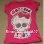 Camiseta Monster High Manga Curta Pink