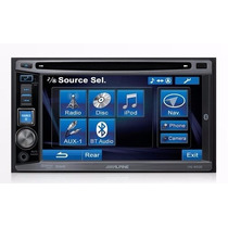 Dvd Alpine Nacional Ive W530 2 Din Bluetooth Double Din
