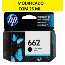 Cartucho Hp 662 (25 Ml) 1516, 2515, 2516, 2546, 3515, 3516
