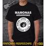 Camiseta Mamonas Assassinas Rock Bandas Preta Frete Grátis