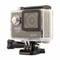 Action Camera Full Hd Filmadora H.264 Wi-fi 1080p Tela 2