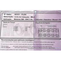 Junta Cabecote Gm Vectra/omega/s-10 2.2/2.4 8v - Metalica