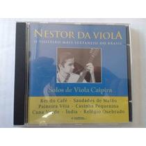 Nestor Da Viola Solos De Viola Caipira Cd Lacrado Original