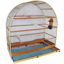 Gaiola Para Pássaro Azulão Bicudo Curió Tamanho Grande