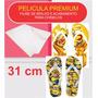 Pelicula Premium - Pelicula De Brilho - Chinelos 31 Cm- 1 Mt